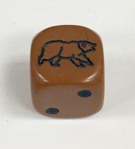 Light Brown Bear Die Product Number 12731
