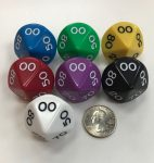 d10 Percentage Jumbo Dice Group Koplow - 10 Sided - DiceEmporium.com
