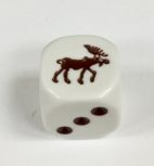 6 Sided Moose Die Product Number 00512