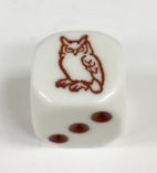 6 Sided Brown Owl Die Product Number 18707