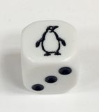 6 Sided Penguin Die Product Number 17951