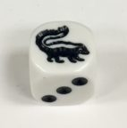 6 Sided Skunk Die Product Number 00516