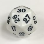 D30 Jumbo White Die Product Number 06010