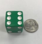 6-sided-25mm-green-white
