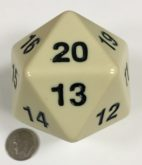 55mm Ivory Jumbo Die Product Number 11664