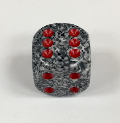 16mm 6 Sided Granite Speckled Dice