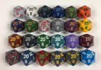 20 Sided Speckled Dice