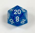 20 Sided Water Speckled Dice