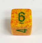 6 Sided Lotus Speckled Dice