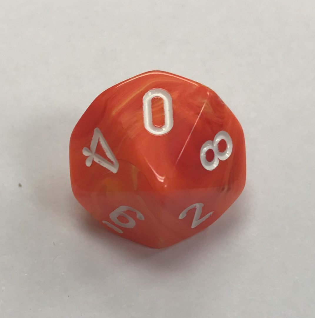 10 Sided Signature Dice D10 From Chessex