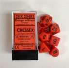 Orange-Black-Chessex-Dice-CHX25403