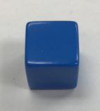 16mm-6-sided-opaque-blank-blue