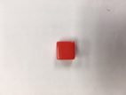 16mm 6 Sided Blank Red Dice