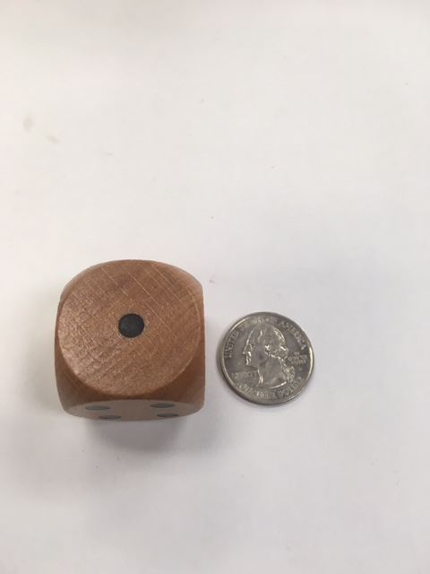 30mm Wood Dice