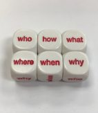6 Sided Interrogative Dice - DiceEmporium.com