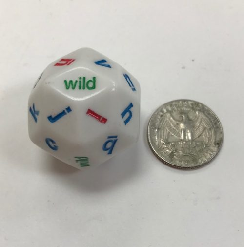Alphabet 30 Sided Dice - DiceEmporium.com