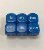 Being and Helping Verbs Dice - DiceEmporium.com