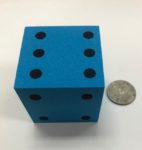 2-inch-foam-dice-blue