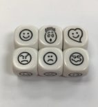 6 Sided Smiley Face Die/Dice - DiceEmporium.com