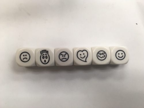 16mm Smiley Faces Dice