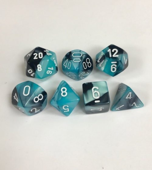 Black-Shell-White-Gemini-Chessex-Dice-CHX26446