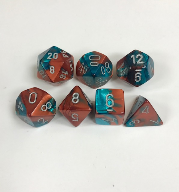 Copper-Teal-Silver-Gemini-Chessex-Dice-CHX26453