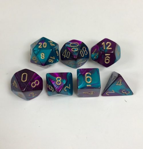 Purple-Teal-Gold-Gemini-Chessex-Dice-CHX26449