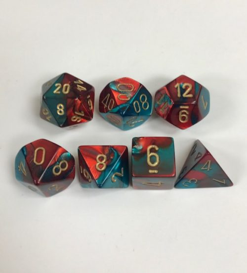 Red-Teal-Gold-Gemini-Chessex-Dice-CHX26462