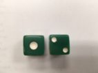 Crappy Green Big Pip 6 sided dice
