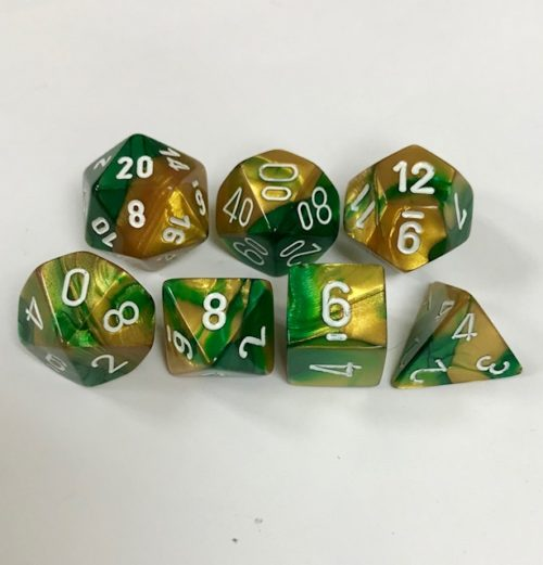 Gold-Green-White-Gemini-Chessex-Dice-CHX26425