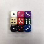 12mm Deluxe Opaque Round Corner Dice Set - DiceEmporium.com