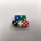12mm Promotional Square Corner Opaque Dice Set