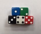 12mm Promotional Square Corner Opaque Dice Set - DiceEmporium.com