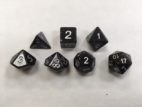 Blue Set of 7 Dice