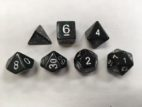 Green Set of 7 Dice