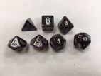 Purple Set of 7 Dice - DiceEmporium.com