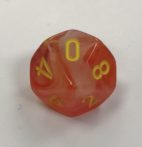 Ghostly Glow Orange/yellow D10
