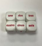 Spanish-Word-Number-Dice