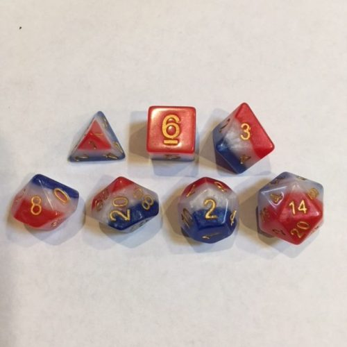 3-Layer-Multicolor-Dice-Set