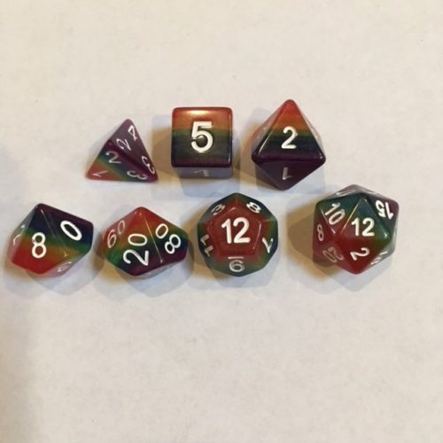Rainbow-Dice-Set