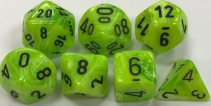 green-dice-sets