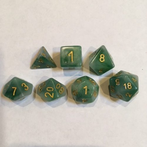 Green-Jade-Dice-Set