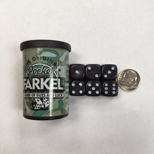 Camo Pocket Farkel Dice - DiceEmporium.com