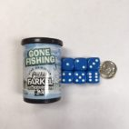 Gone Fishing Pocket Farkel Dice - DiceEmporium.com