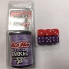 Red Hat Pocket Farkel Dice - DiceEmporium.com