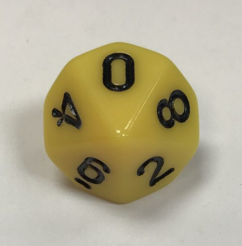 10-Sided-Opaque-Yellow-Black