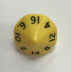 16-Sided-Opaque-Dice-Yellow