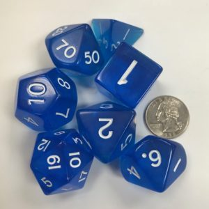 Jumbo-Polyhedral-Transparent-Blue-Dice