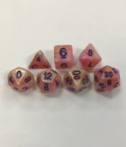 Marble-White-Orange-Purple-Set-of-7-Dice-HD