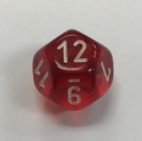 12-sided-clear-red-white-chessex
